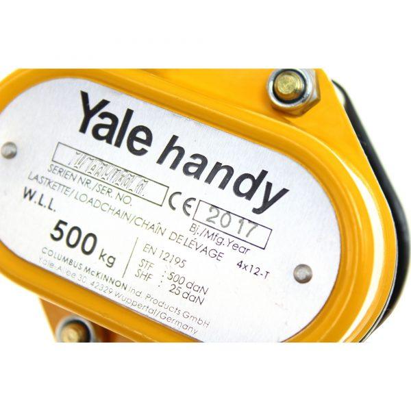 Yalehandy - wciągnik łańcuchowy ręczny