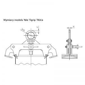 Yale Tigrip TKA 0,25/a - uchwyt transportowy