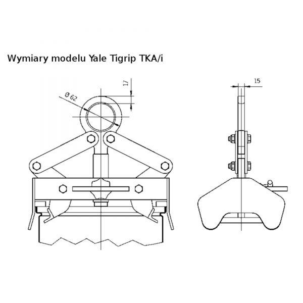 Yale Tigrip TKA 0,25/i - uchwyt transportowy