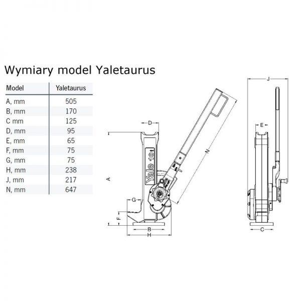 Yaletaurus - podnośnik kolejowy
