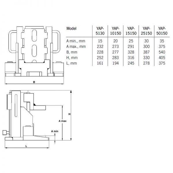Yale YAP - podnośnik hydrauliczny