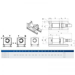 Gebuwin EP12500 - wciągarka linowa elektryczna