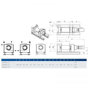 Gebuwin EP5000 - wciągarka linowa elektryczna