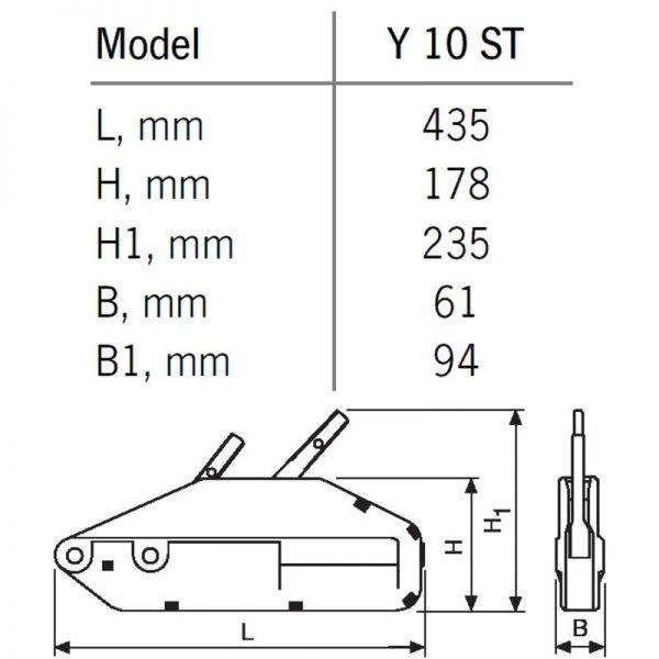 YaleTRAC ST- Wciągarka linowa ręczna